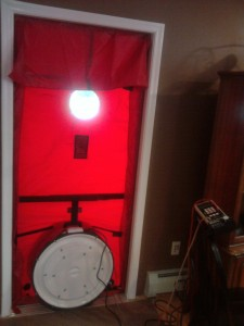 Bucks County Energy Audit | Blower Door